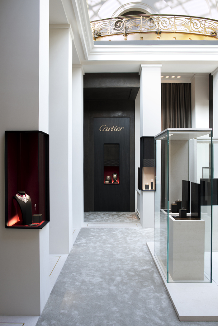 Sandrine sarah faivre tristan auer architecture intérieure shopping 2014 cartier